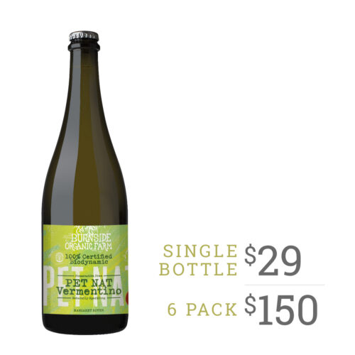 burnside organic farm pet nat vermentino 2020